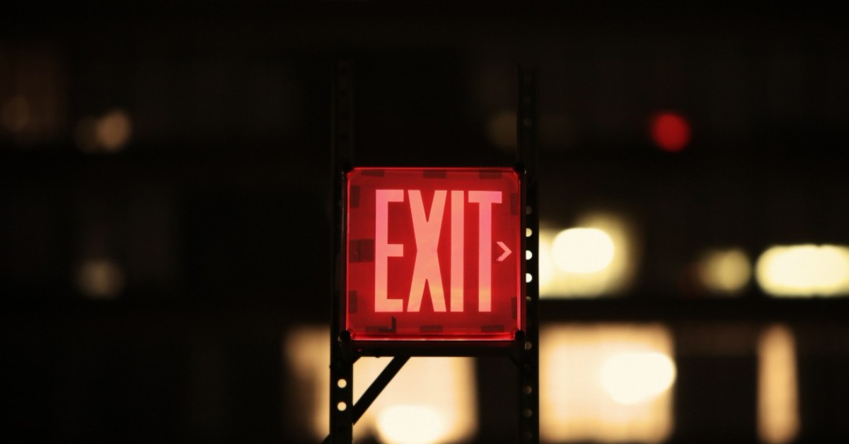 Exit sign, exit signs are an important part of fire safety plans.